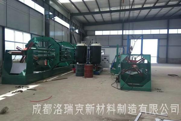 聚氨酯保溫管大型發泡機組